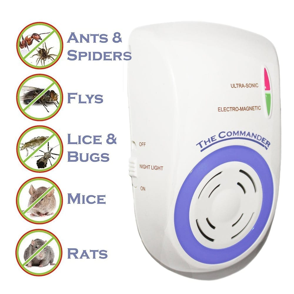 electronic rat repellent also protecting your home from ants, spiders, fly, bugs, mice, rats