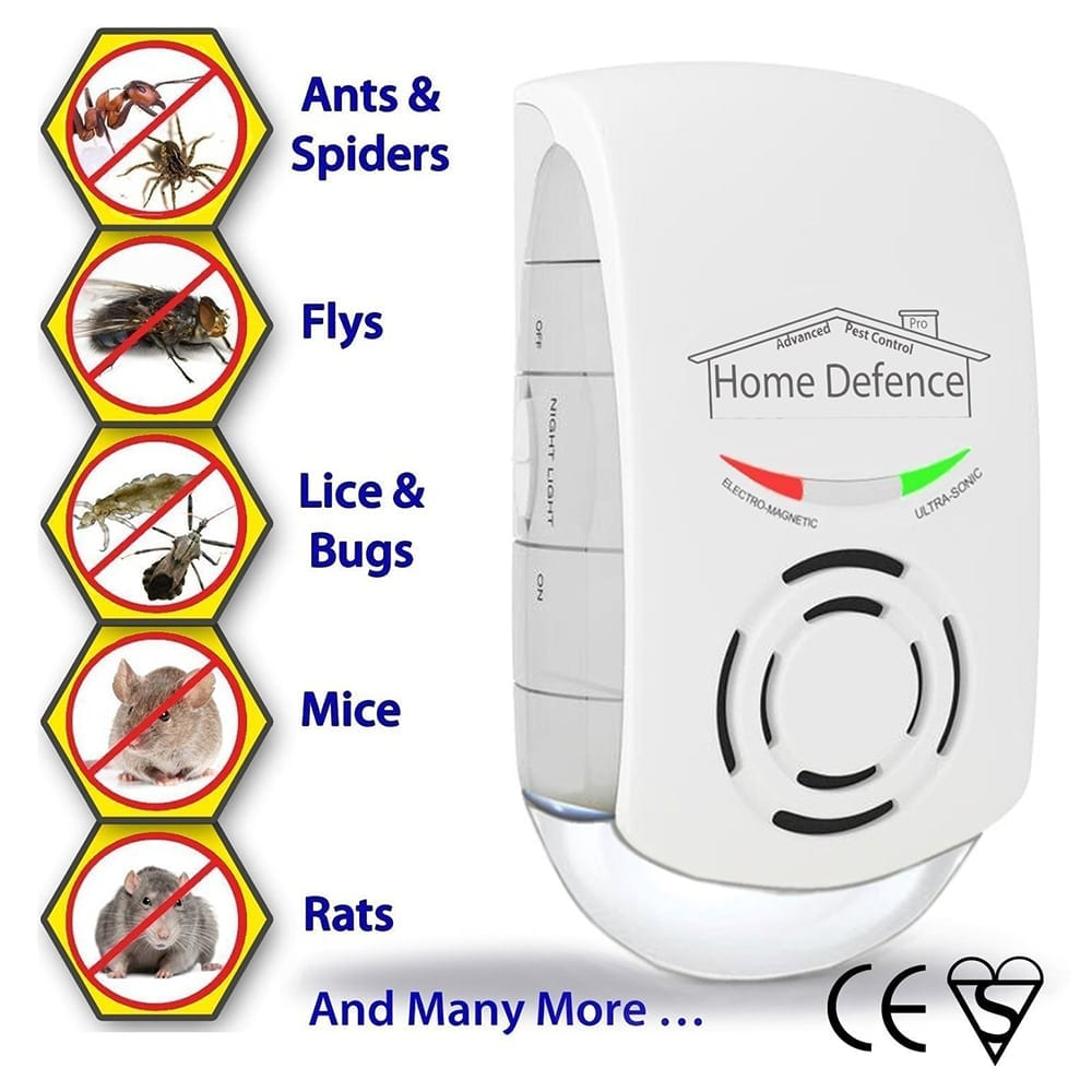 electric fly repellent best insect repeller for ants, spiders, flys, bugs, mice, rats and more