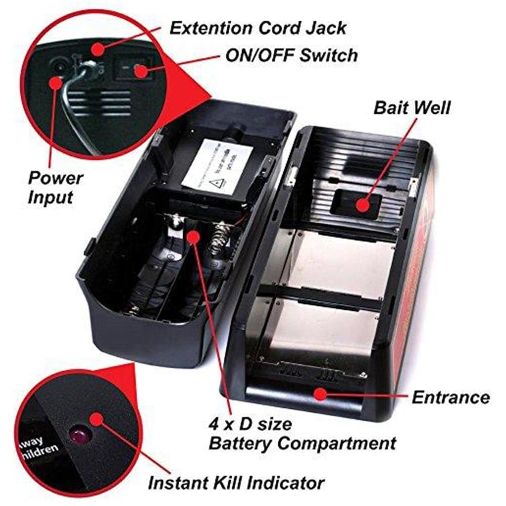 victor electronic rat trap alternative