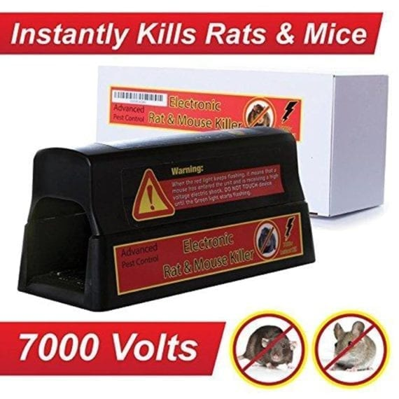 instantly kill rats with the electric rat trap