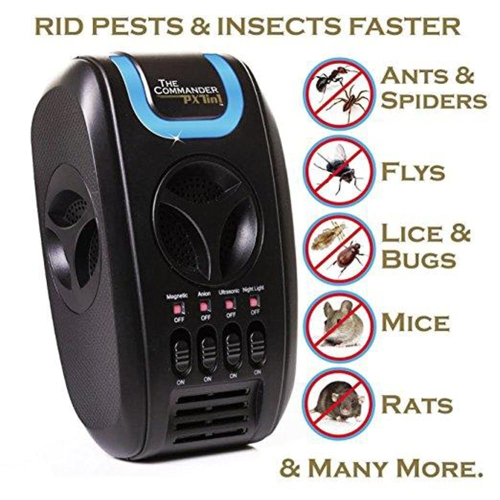 Px7 Pro 7 In 1 Ultrasonic Electronic Anti Rodent Mouse