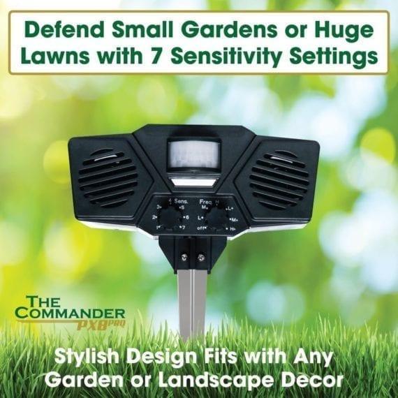 stylish design on the ultrasonic pest repeller