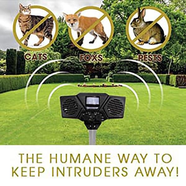 The Humane Way to Keep Intruders Away