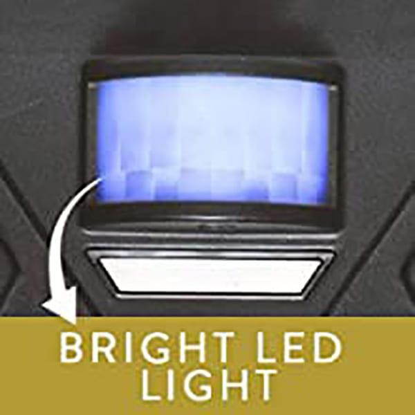 Bright LED Drives Out the Worst Cat, Dog, Deer, Goose, Bird, Rabbit or Pest, GUARANTEED